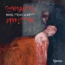 Pawel Szymanski (geb. 1954): Kammermusik für Streichquartett, CD