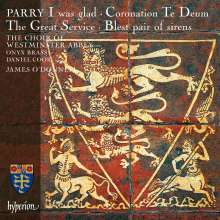 Hubert Parry (1848-1918): Chorwerke, CD