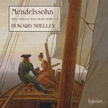 Felix Mendelssohn Bartholdy (1809-1847): Sämtliche Klavierwerke Vol.3, CD
