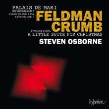 Steven Osborne - Feldman / Crumb, CD