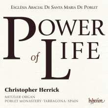Christopher Herrick - Power of Life, CD