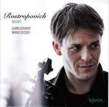 Alban Gerhardt - Rostropovich Encores, CD