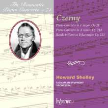 Carl Czerny (1791-1857): Klavierkonzerte F-Dur op. 28 & a-moll op. 214, CD