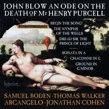 John Blow (1649-1708): Ode on the Death of Henry Purcell, CD