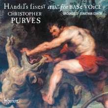"""Georg Friedrich Händel (1685-1759): Arien - """"Handel's finest Arias for Base Voice"""" II, CD"""