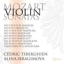 Wolfgang Amadeus Mozart (1756-1791): Sonaten für Violine & Klavier Vol.4, 2 CDs