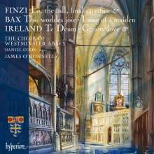 Westminster Abbey Choir - Finzi / Bax / Ireland, CD