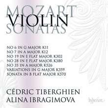 Wolfgang Amadeus Mozart (1756-1791): Sonaten für Violine & Klavier Vol.5, 2 CDs