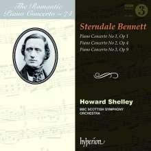 William Sterndale Bennett (1816-1875): Klavierkonzerte Nr.1-3, CD