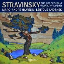 Igor Strawinsky (1882-1971): Musik für 2 Klaviere, CD