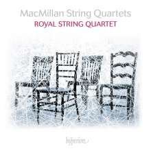 James MacMillan (geb. 1959): Streichquartette Nr.1-3, CD