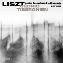 Franz Liszt (1811-1886): Annees de Pelerinage (3.Jahr), CD