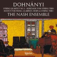 Ernst von Dohnanyi (1877-1960): Streichquartett Nr.3 op.33, CD
