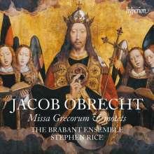 Jakob Obrecht (1457-1505): Missa Grecorum, CD