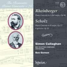 Bernhard Scholz (1835-1916): Klavierkonzert B-Dur op. 57, CD
