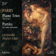 Hubert Parry (1848-1918): Klaviertrios Nr.1 & 3, CD