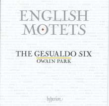 The Gesualdo Six - English Motets, CD
