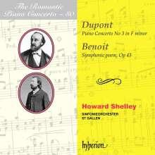 Auguste Dupont (1827-1890): Klavierkonzert Nr.3 f-moll op.49, CD