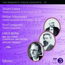 Eduard Lassen (1830-1904): Violinkonzert D-Dur op.87, CD