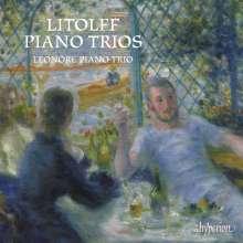 Henry Litolff (1818-1891): Klaviertrios Nr.1 d-moll & Nr.2 Es-Dur, CD