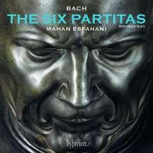 Johann Sebastian Bach (1685-1750): Partiten BWV 825-830, 2 CDs