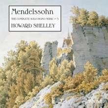 Felix Mendelssohn Bartholdy (1809-1847): Sämtliche Klavierwerke Vol.5, CD