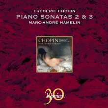 Frederic Chopin (1810-1849): Klaviersonaten Nr.2 & 3, CD
