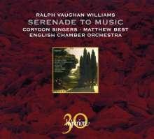 Ralph Vaughan Williams (1872-1958): Serenade to Music, CD