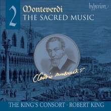 Claudio Monteverdi (1567-1643): Geistliche Musik Vol.2, SACD