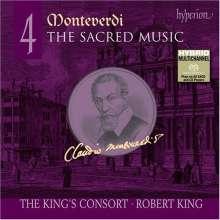 Claudio Monteverdi (1567-1643): Geistliche Musik Vol.4, SACD