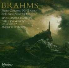 Johannes Brahms (1833-1897): Klavierkonzert Nr.2, Super Audio CD