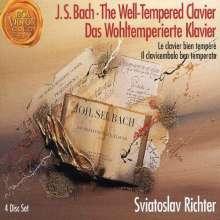 Johann Sebastian Bach (1685-1750): Das Wohltemperierte Klavier 1 & 2, 4 CDs