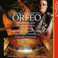 Ferdinando Bertoni (1725-1813): Orfeo, CD