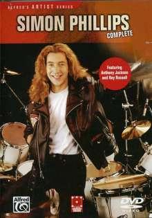 Simon Phillips (Drums): Complete, DVD
