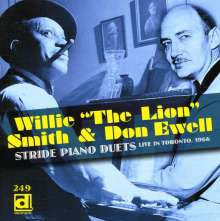 Willie 'The Lion' Smith & Don Ewell: Stride Piano Duets, CD