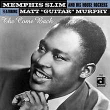 Memphis Slim: The Come Back, CD
