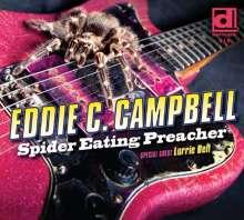 Eddie C. Campbell: Spider Eating Preacher, CD