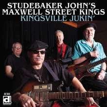 Studebaker John's Maxwell Street Kings: Kingsville Jukin, CD