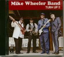 Mike Wheeler: Turn Up!!, CD