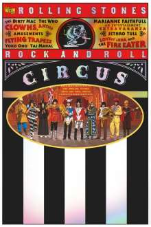 The Rolling Stones: The Rolling Stones Rock And Roll Circus (4K Restoration), DVD
