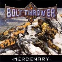 Bolt Thrower: Mercenary (Reissue) (Limited Edition) (Snow Slush White Marbled Vinyl), LP