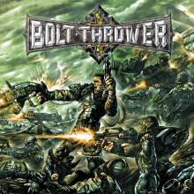 Bolt Thrower: Honour Valour Pride (Reissue) (Limited Edition) (Clear Amory Green Marbled Vinyl), 2 LPs