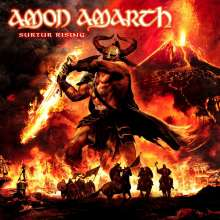 Amon Amarth: Surtur Rising  (CD + DVD), 2 CDs