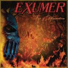 Exumer: Fire & Damnation, CD