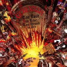 Gehennah: Too Loud to Live, Too Drunk to Die / Metal Police, 2 CDs