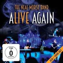 Neal Morse: Alive Again, 2 CDs und 1 DVD