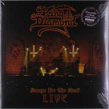King Diamond: Songs For The Dead Live (Limited-Numbered-Edition) (Deep Purple W/ Black Smoke Vinyl), 2 LPs