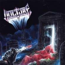 Vulture: Ghastly Waves & Battered Graves (Limtied-Edition) (Red/White/Black Marbled Vinyl), LP
