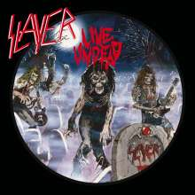 Slayer: Live Undead (remastered) (Blue/White & Black Splatter Vinyl), LP
