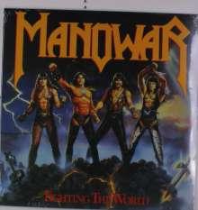 Manowar: Fighting The World (Colored Vinyl), LP